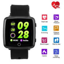 OLED Smartwatch Bluetooth Armbanduhr Smartband Pulsuhr Blutdruck Fitnesstracker