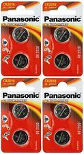 4x Panasonic CR2016-C2 Litihium 3V Coin Cell CR2016 Batteries (8 Batteries)