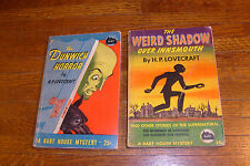 WEIRD SHADOW OVER INNSMOUTH & DUNWICH HORROR, H P LOVECRAFT, vintage paperbacks