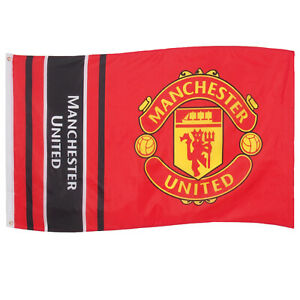 Manchester United Flag Body 5x3ft Crest OFFICIAL Football Gift