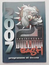 21s HELLS ANGELS 2007 Bulldog Bash Custom Show Programme Motorcycle Memorabilia