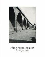 Böhmer, Sylvia; Albert Renger-Patzsch. Photographien