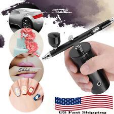 Mini Airbrush Action 0.3mm Air Brush Kit Spray Gun Compressor Paint Art Nail Art