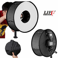 Foldable Annular Speedlight Flash Softbox Diffuser Soft Box Collapsible Reflecto