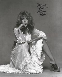 REPRINT - STEVIE NICKS Fleetwood Mac Hot Autographed Signed 8 x 10 Photo Poster