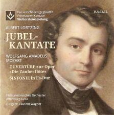 Lortzing, Jubelkantate, Weltersteinspielung; Musik der Freimaurer