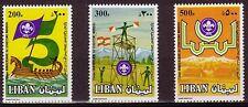 LEBANON- LIBAN MNH SC# 475-477 SCOUTISM