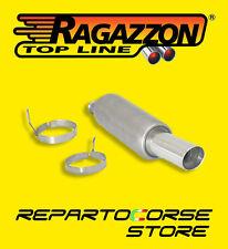 RAGAZZON TERMINALE SCARICO ROTONDO 90mm PEUGEOT 206 CC 1.6 16V 109CV 18.0145.60
