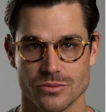 ❤️Ray Ban Plastic Round Tortoise Black Eyeglasses Men RB 2447-v 5491 49mm 🇮🇹
