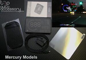 "HUD Head Up Display 5.5"" OBD II 2 Speed RPM Warning System for all model Mercury"