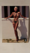 Playboy's Celebrity card December 1987 briritte Nielsen #3bn playboy 1995