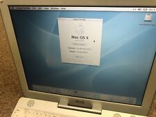 "Apple iBook 12.1"" Laptop - M6497 2001 40gb Hdd 256 Mb Ram 500 Mhz"