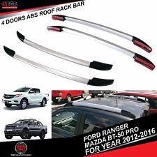 4 Doors ABS Roof Rack Bar MAZDA BT-50 PRO&FORD RANGER MK2 T6 WILDTRAK 2012-2016
