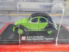 Citroen 2cv 2 CV CANARD charleston spécial Modèle Vert AUTO PLUS ALTAYA S-PRIX 1:43