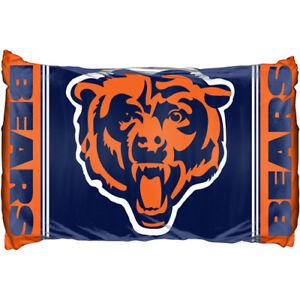 Chicago Bears 20x30 Standard Pillowcase Sham Set of 2