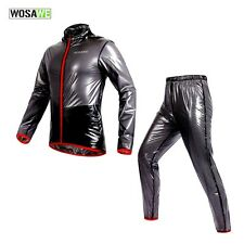 Shiny wet look glanz pvc  nylon track suit sport mens jacket pants M
