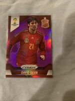 2014 panini prizm world cup David Silva /99 Purple/silver Pack Fresh 💎