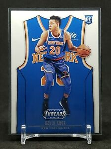 2018-19 Threads Kevin Knox RC, Rookie Card Icon Jersey Variation, NY Knicks