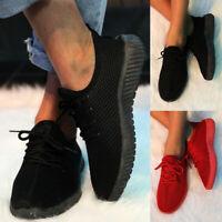 Damen Sportschuhe Turnschuhe Laufschuhe Running Sneaker Flache Freizeit Schuhe