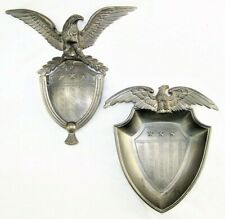 New listing Colonial Casting Co. Meriden, Ct Pewter Eagle Door Knocker & Decor Dish Vintage