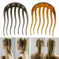 Women Ponytail Inserts Hair Clip Hairpin Hair Comb Styling Tools K3I1