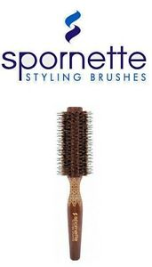 Spornette - ETCHED PORCUPINE ROUNDER Hair Brush (EP)  --  FREE SHIPPING