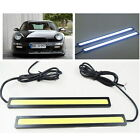 2pcs 12V LED COB Car Auto DRL Driving Daytime Running Lamp Fog Light White 17cm