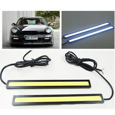 2pcs 12V LED COB Car Auto DRL Driving Daytime Running Lamp Fog Light Waterproof