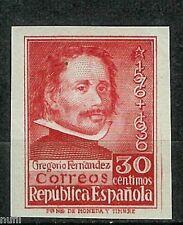 Spain Edifil # 726 s ** MNH Gregorio Fernandez Sin dentar