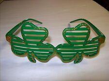 St. Patrick's Day Irish Fun Glasses - Shamrock Shaped! One Size Fits Most!
