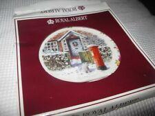 More details for royal albert plate home for xmas christmas post pn287 2003 gc