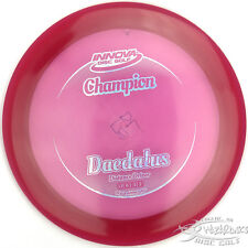 New Red Champion Daedalus Understable Driver 175g Innova Disc Golf Sparkle Stamp