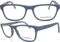 Emporio Armani Damen Herren Brillenfassung EA3082 5211 53mm grau matt 170 6