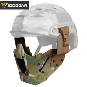 IDOGEAR Airsoft Mesh Mask JAY Fast mask Half Face Airsoft Tactical Camo Hunting