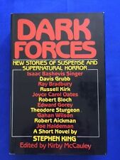 DARK FORCES - 1ST. ED. EDITED BY KIRBY MCCAULEY WITH NOVELLA BY  STEPHEN KING