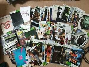 Over 500x Xbox 360 Manuals, All £1.99 Each With Free Postage, Trusted Ebay Shop