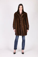 MINK FUR COAT MANTEAU FOURRURE VISON MANTELLO PELLICCIA МЕХ НОРКА ШУБА PELISSE