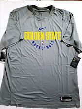 ee6b1dd1d Nike Dry NBA Golden State Warriors Practice Jersey Shirt Mens SZ XXLT  877532 039