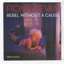(FY622) Fiona Bevan, Rebel Without A Cause - 2014 DJ CD