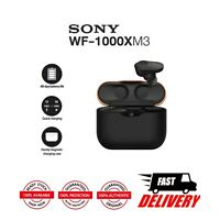 Sony WF-1000XM3 Truly Wireless Noise Cancelling Headphones # Black