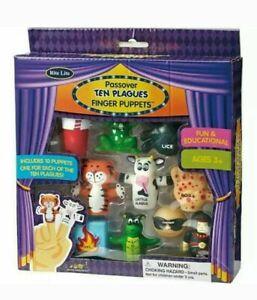 RITE LIFE Passover Ten Plagues Finger Puppets Kids 3+ Educational Toys Boils NIB