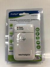 PRODIGIT Universal Ladegerät  3,6 V / 3,7 V und 7,2 V / 7,4 V  AA AAA NiMh NiCd