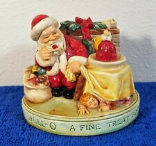 Vintage 1955 Santa Sebastian Miniatures Figure - Jell-O A Fine Treat For All