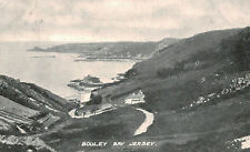 Bouley Bay,Jersey,U.K.Bird' s Eye View,Used,1908
