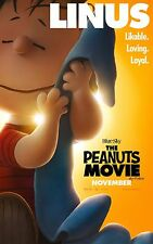 The Peanuts Movie (2015) Movie Poster (24x36) - Charlie Brown, Snoopy, Linus v2