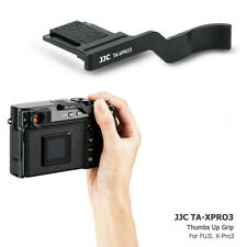 JJC Metal Thumbs Up Grip Hand Holder Hot Shoe Cover for Fujifilm X-Pro3 Camera