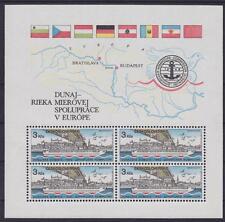 Tschechoslowakei Block 51 **, Donaukommission 1982, postfrisch, MNH