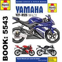 Yamaha YZF-R125 2008-2011 Haynes Workshop Manual