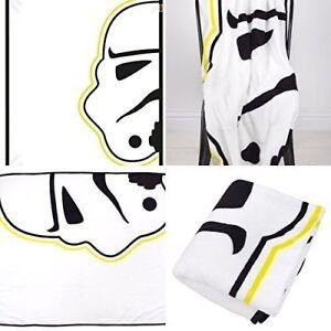 Disney Star Wars Klassisch 'Storm' Koralle Panel Fleece Tagesdecke Brandneu