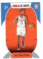 2020-21 Panini NBA Hoops Aleksej Pokusevski Rookie RC #219 Oklahoma City Thunder
